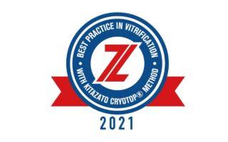 Награда Kitazato Best Practice in Vitrification Recognition 2021