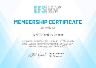 Клиника «Айвимед» стала членом Европейского общества фертильности